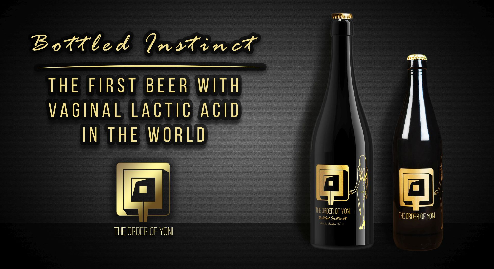 First Vaginal Beer: Bottled Instinct