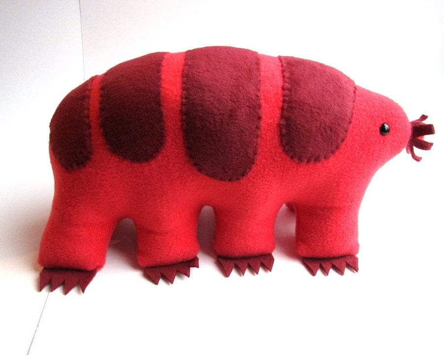 Peluche tardigrade, weirdbuglady