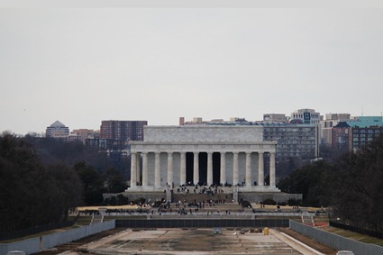 Lincoln Memorial and Empty Reflecting Pool