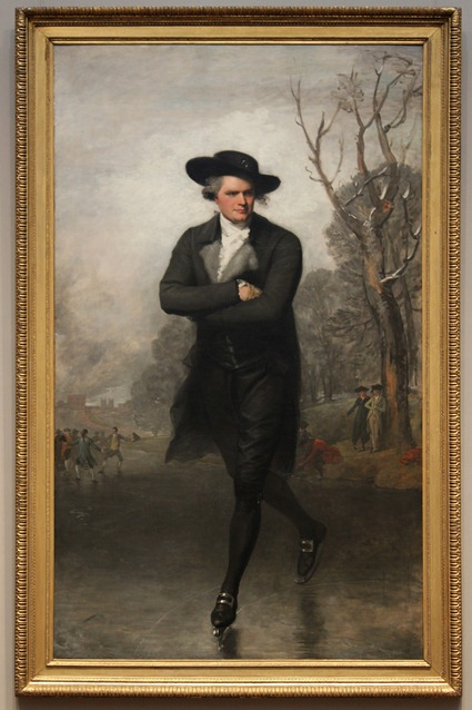 The Skater (Portrait of William Grant), 1782, Gilbert Stuart