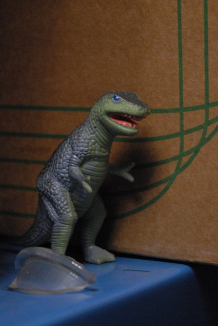 Tyrannosaure de poche, Photo: Marion Sabourdy