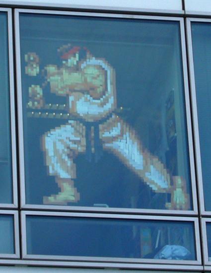 """"""" Ryu - it """" , à Dassault Systèmes Vélizy, bâtiment Terre."""