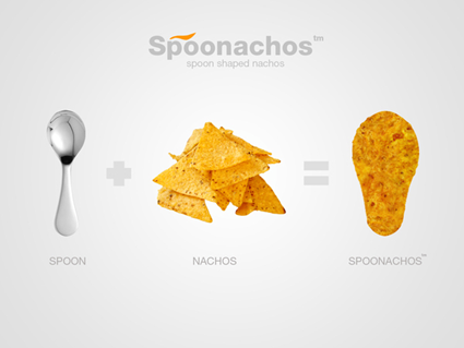 Spoonachos, Spoon Shaped Nachos
