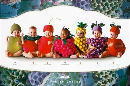 Bébés fruits
