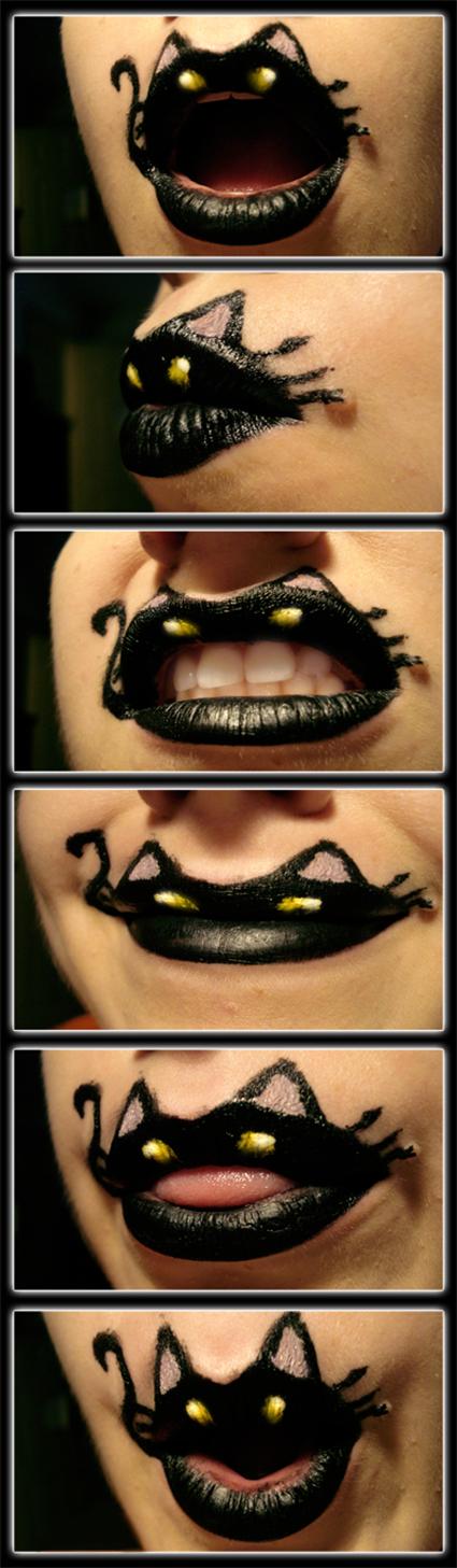 Expressions of a Black Cat - viridis-somnio