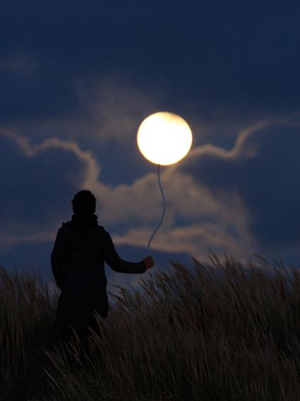 tenir la Lune comme un ballon de baudruche, Laurent Laveder