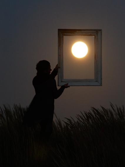 La Pleine Lune est si belle qu'il faudrait l'encadrer, Laurent Laveder