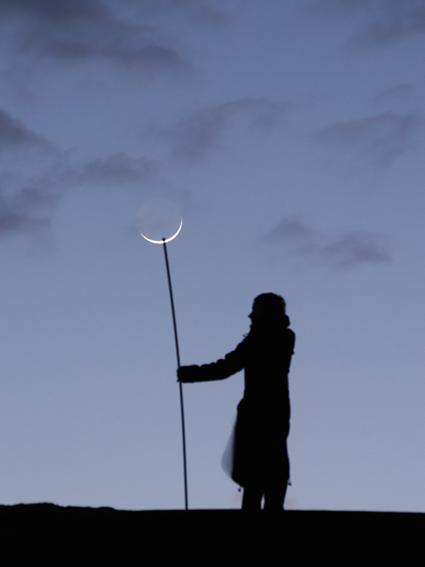 Serait-ce la gardienne du temple de la Lune ? Laurent Laveder