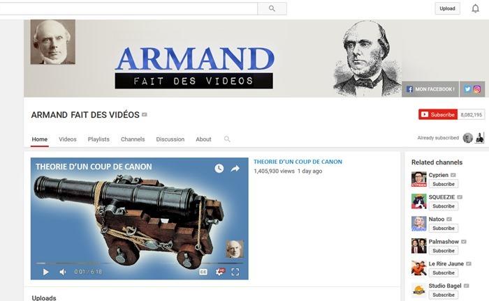 ARMANDFAITDESVIDEOS