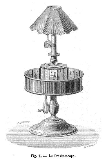 Praxinoscope d'Emile Reynaud