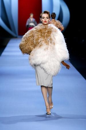 Truc en plumes, Dior
