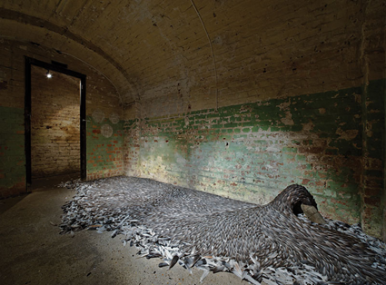 Sluice, 2009, Kate MccGwire