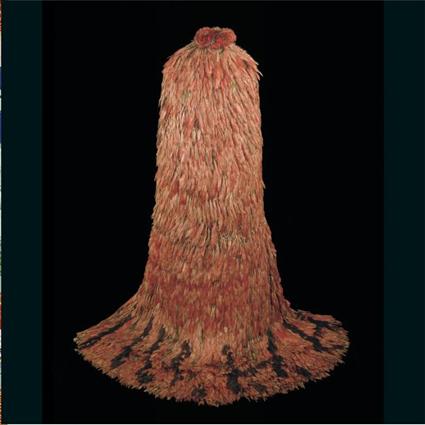 Manteau de plumes dit de Montezuma