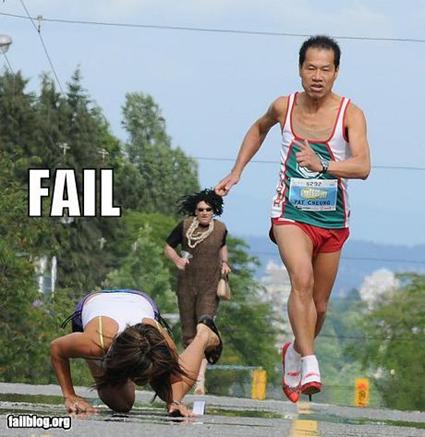 Le Marathon en talons aiguilles
