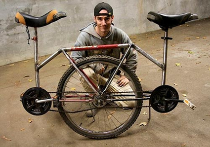 Le Monocycle en tandem