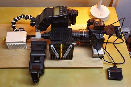 Microphotography setup, Tomas Rak