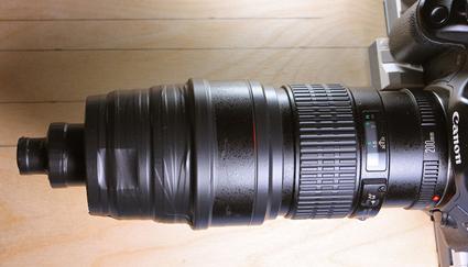 Canon 200mm F2.8 L as a correction lens and Carl Zeiss GF Planachromat HD 12,5x/0,25, Tomas Rak