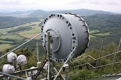 Les antennes du réseau de téléphonie mobile peuvent renseigner sur les précipitations traversées par les micro-ondes qu'elles relaient.
