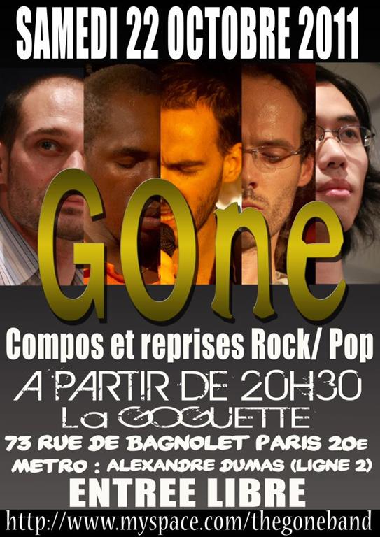 Gone, à la Goguette