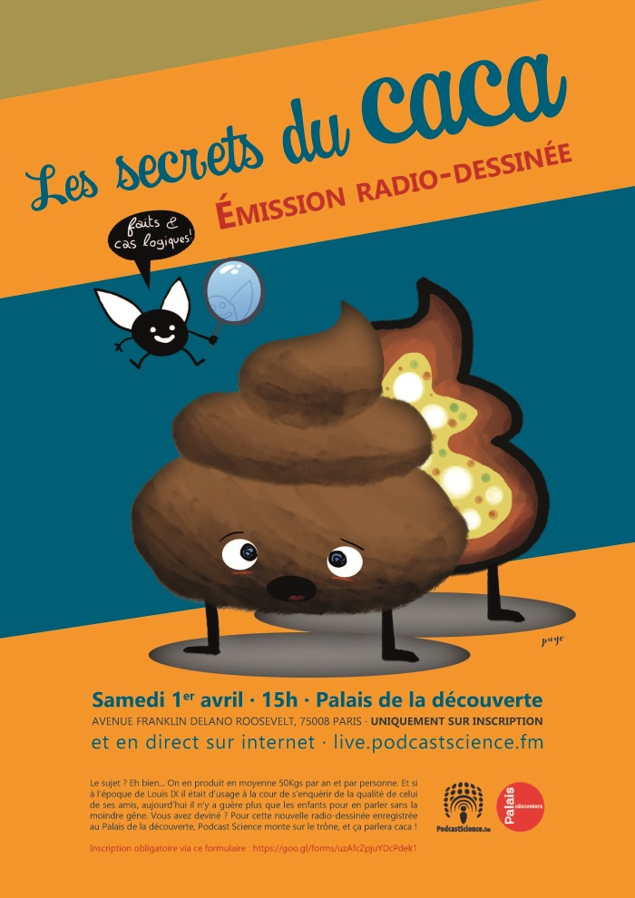 Podcast Science: Les secrets du caca