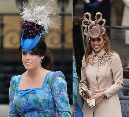 La Princesse Eugenie de York et la Princesse Beatrice de York