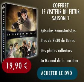 DVD Le Visiteur du Futur, Saison 1