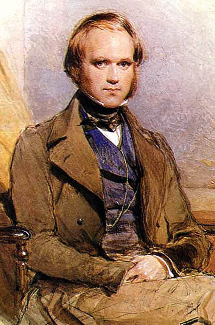 Charles Darwin par George Richmond 