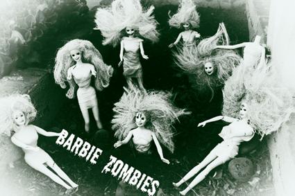 Barbie Zombie Garden