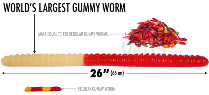 Largest Gummy Worm