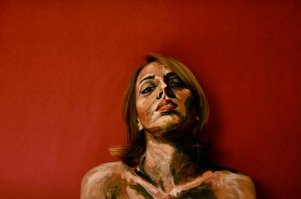 Portait of a self portrait