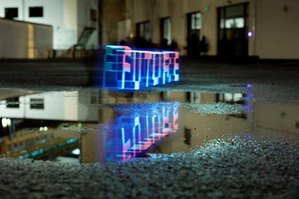 Making Future Magic: iPad light painting, Berg Studio
