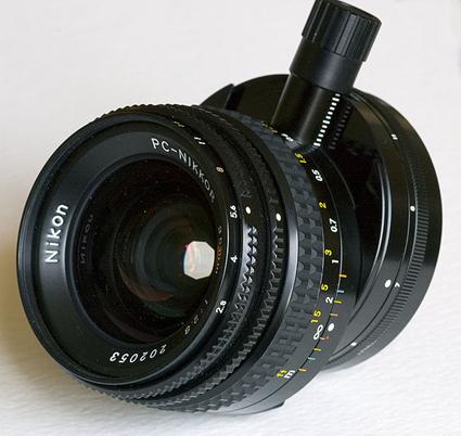 Objectif à décentrement Nikkor 35 mm f/2,8