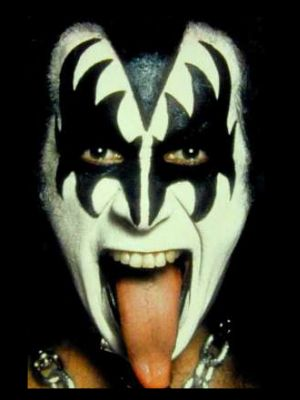 Gene Simmons du groupe Kiss